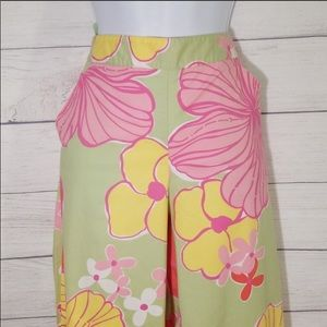 Lilly Pulitzer Floral Wide Leg Pants